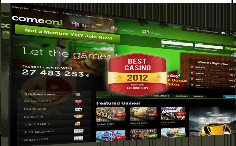 ComeOn! Casino Puolueeton Arvostelu
