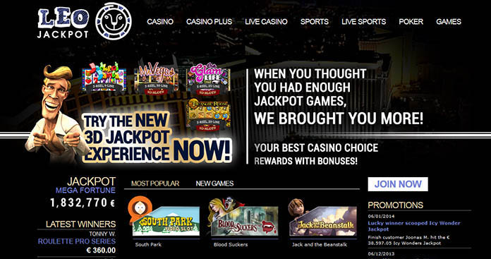 Leojackpot casino Arvostelu