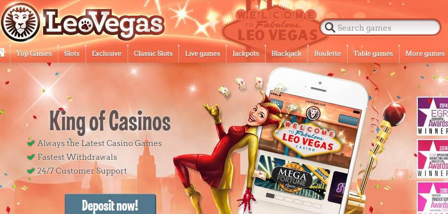 LeoVegas casino Arvostelu
