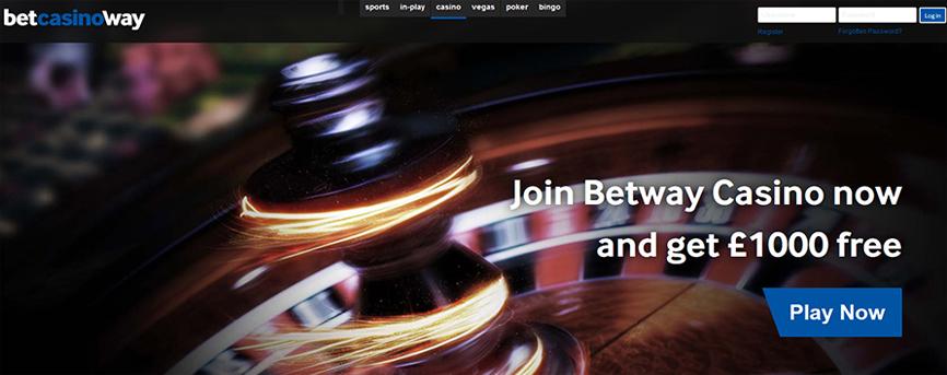 Helppokäyttöinen Betway casino